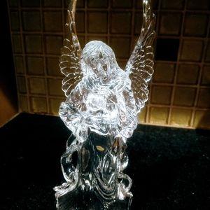 Vintage Acrylic Angel Figurine
